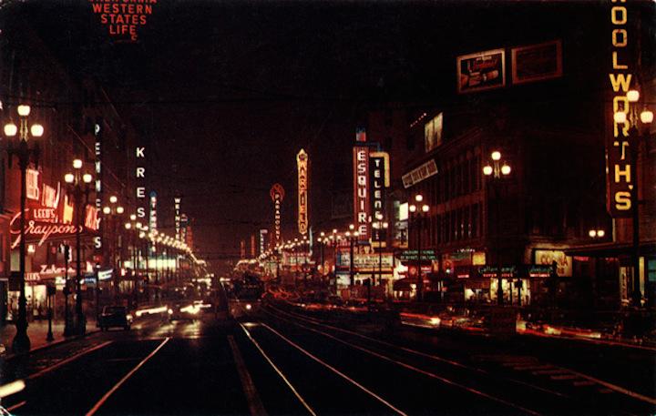 Market STreet SF 1957