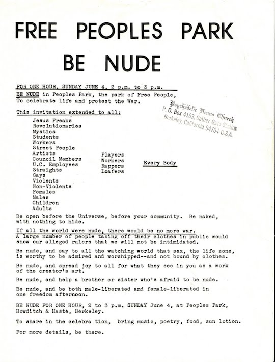 Peoples-Park-Nude-In-brochure-Bancroft-Survey-Project