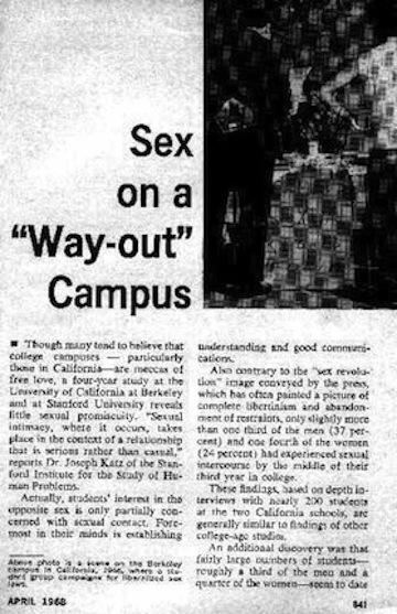 Sexology 1968
