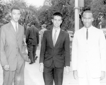 Vecient Moore (Florida A&M), Poland FSU, Robert Kemp (Florida A&M) 1960