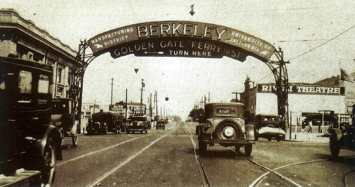 Berkeley Sign Rivoli