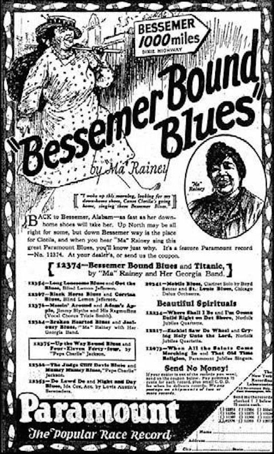 Bessemer Bound Blues
