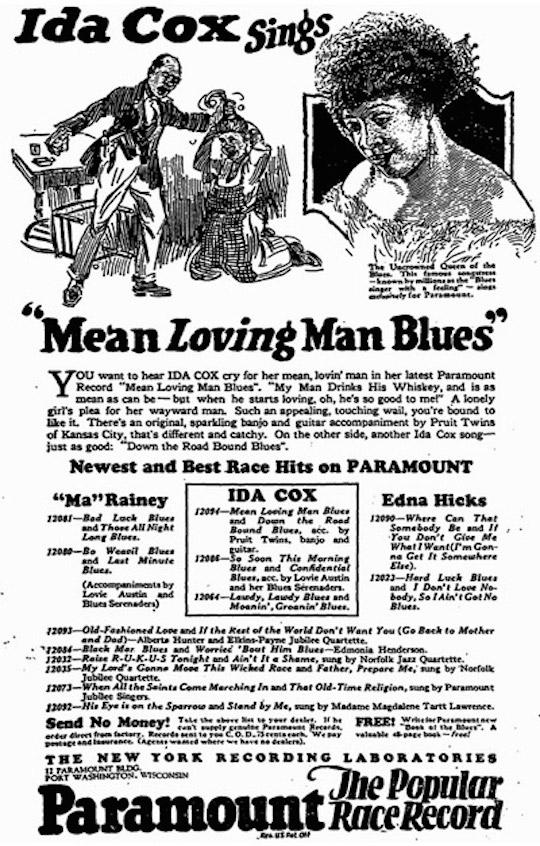Meann Loving Man Blues