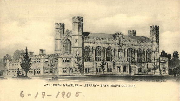 Library at Bryn Mawr College, PA