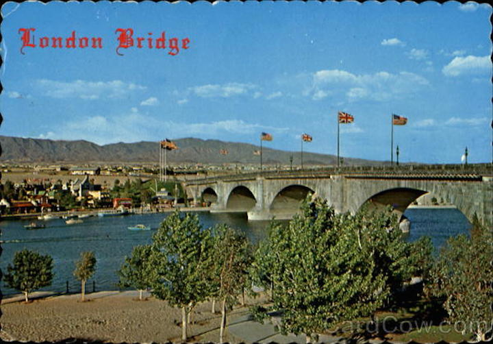 London Bridge And English Village Lake Havasu City