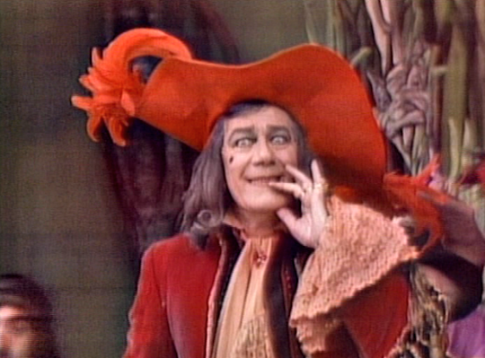 cyril ritchard as captain hook