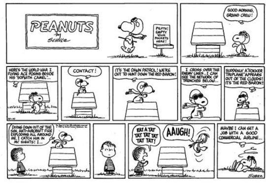 """""""Peanuts"""" (October 10, 1965)"""