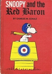 signed_snoopy_red_baron_book