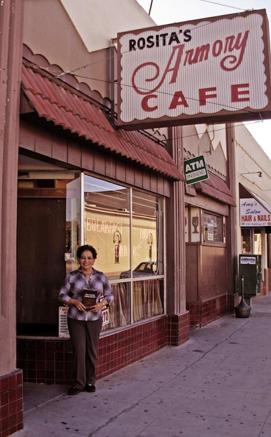 Rosita's Armory Cafe, Salinas St.