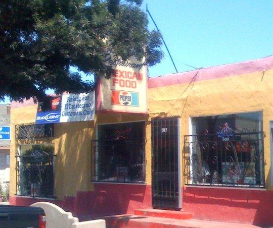 El Zacatecano, Alisal Street