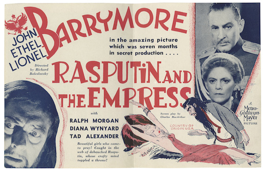 Poster - Rasputin and the Empress_06