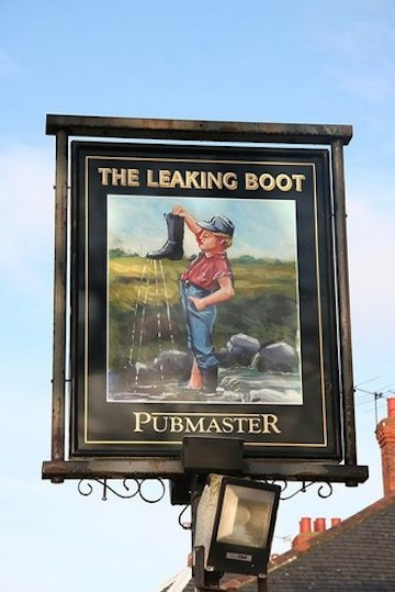 The_Leaking_Boot_pub_sign