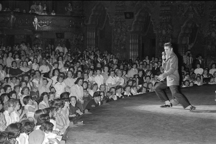 Fox theater, Detroit (May 25, 1956)