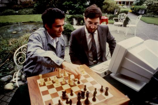 Garry Kasparov 1986