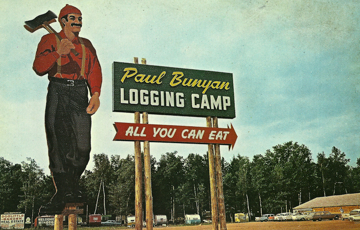 Loggng Camp All You Can Eat