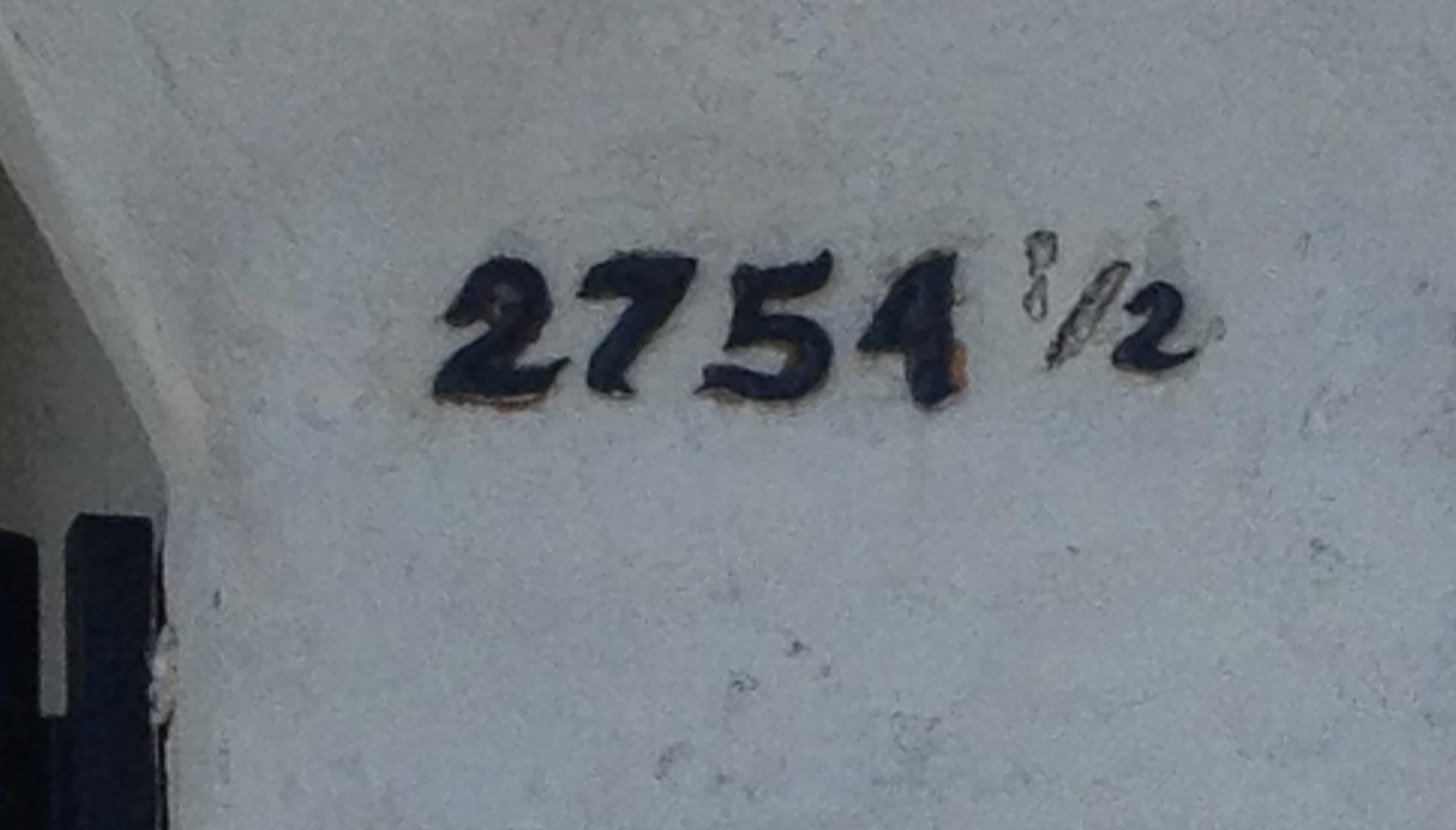 2754 1/2 Dohr