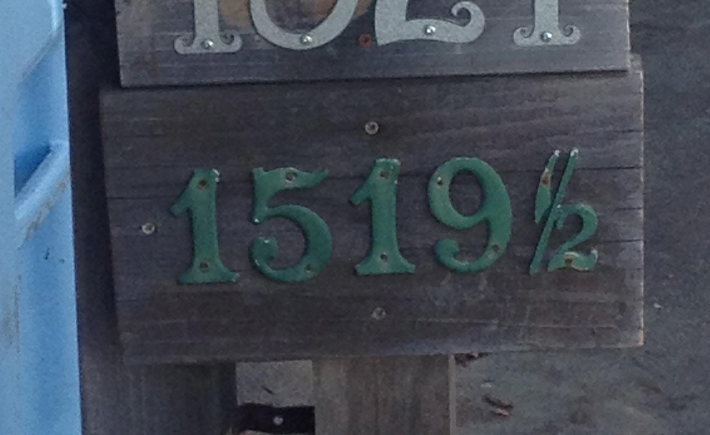 1519 1/2 Addison