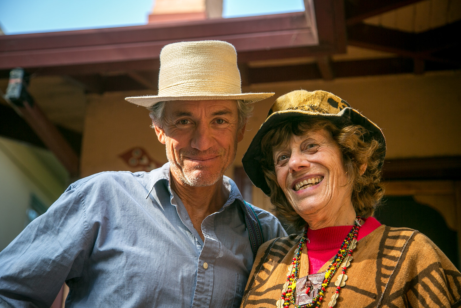 Peter Rudy and Beany Wezelman (November 2017)