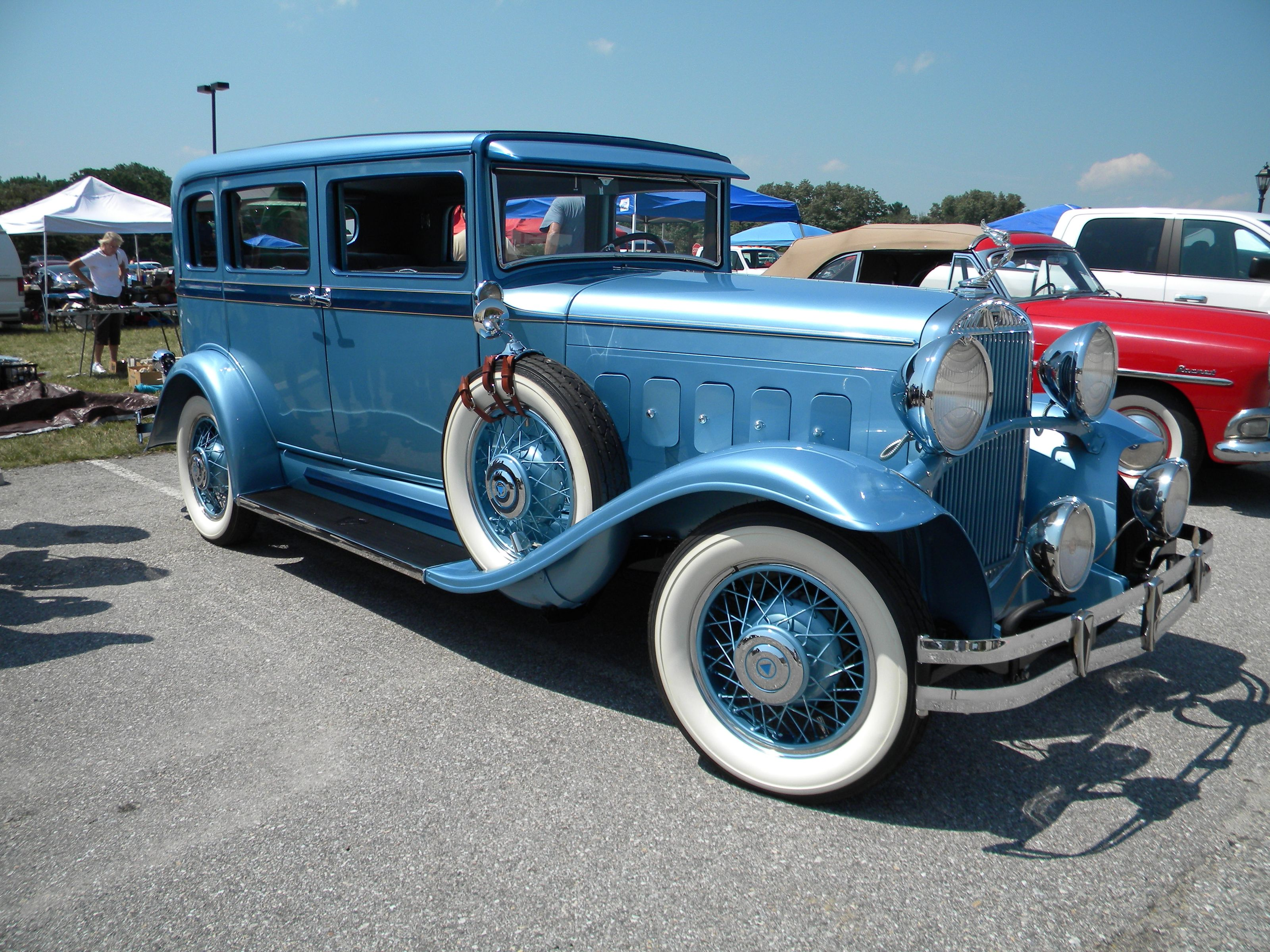 1930 Hudson, Great 8 Sedan