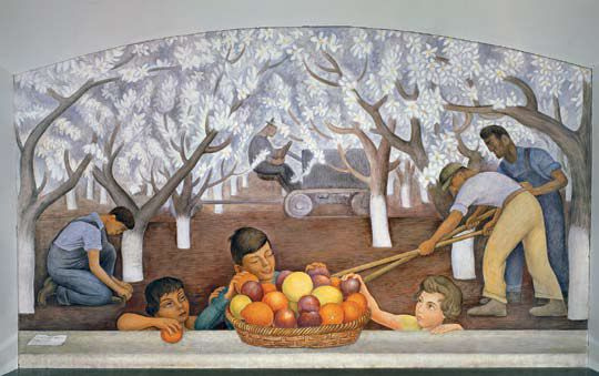 Diego-Rivera-Almond-Mural