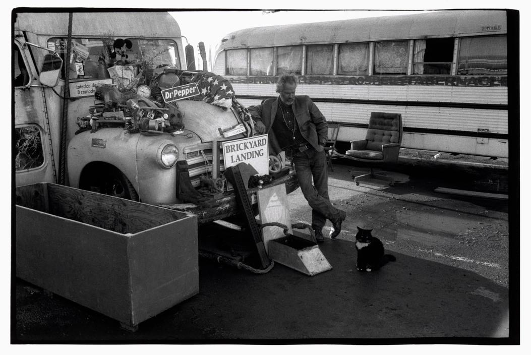 USA. Berkeley, California. 1986. Rainbow Village. © Paul Fusco/Magnum Photos