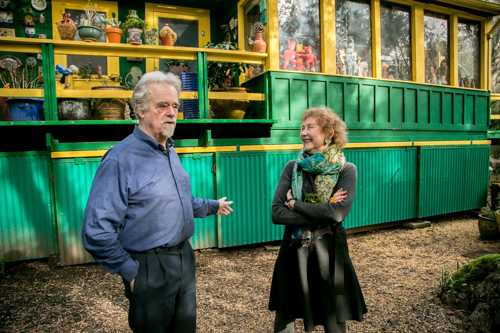 Tom Tollefsen and Susan Alexander