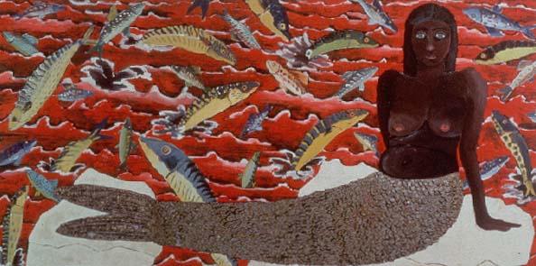 Joan Brown 1970 - UC B Art Museum