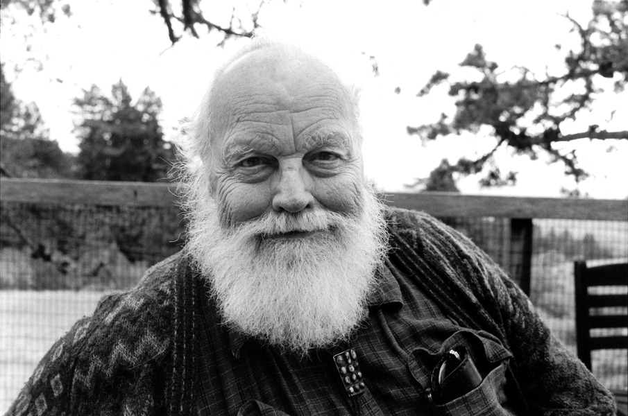 Lou Harrison.  Photo: radiom.org