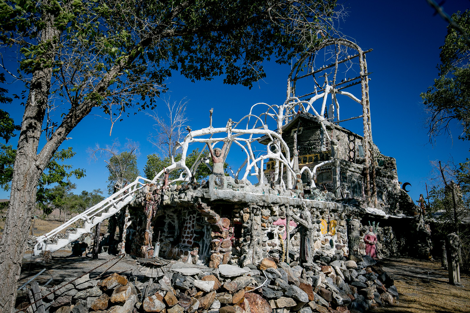 Quirky Nevada-Thunder Mountain Monument