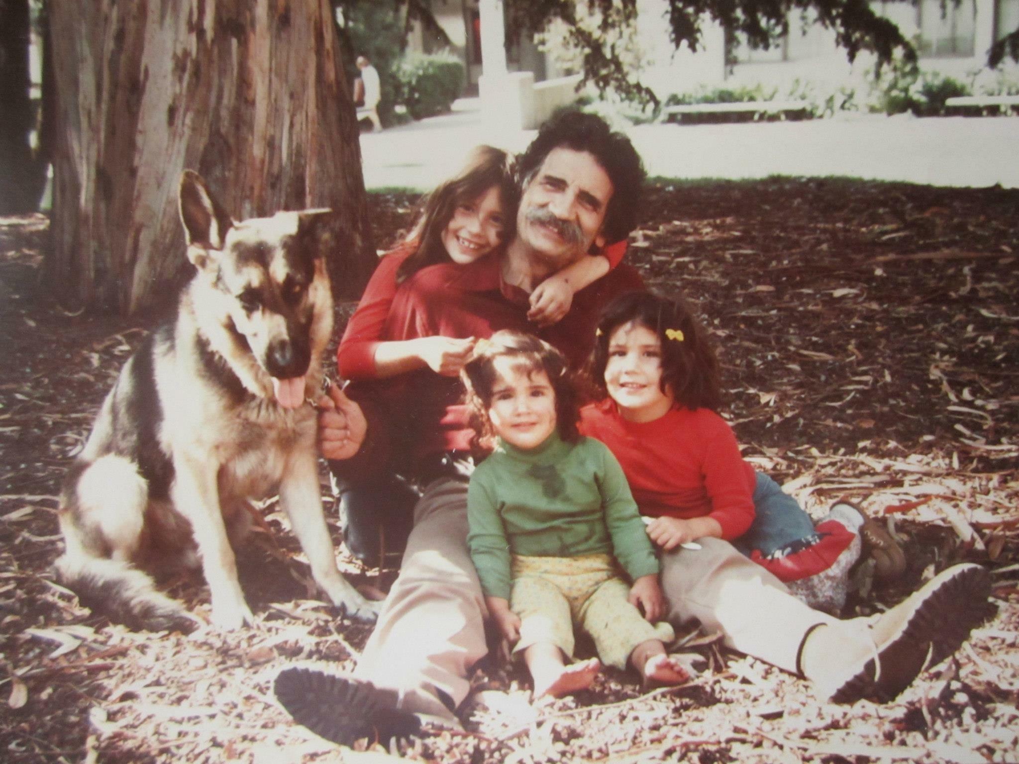 (circa 1978-1979.  Photo courtesy Cathleen Curry Metal