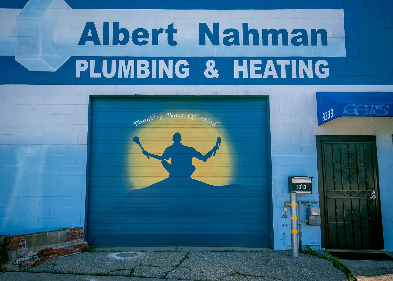 Nahman Plumbing. 3333 MLK Way.