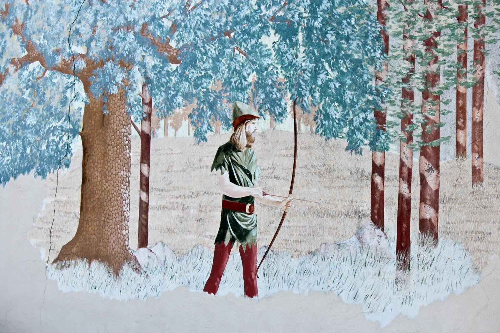 robin hood mural