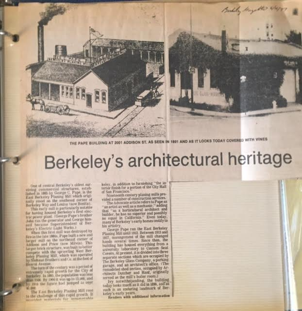 Berkeley Gazette, June 1977