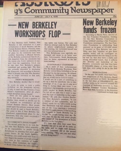 Grassroots, June 22, 1978