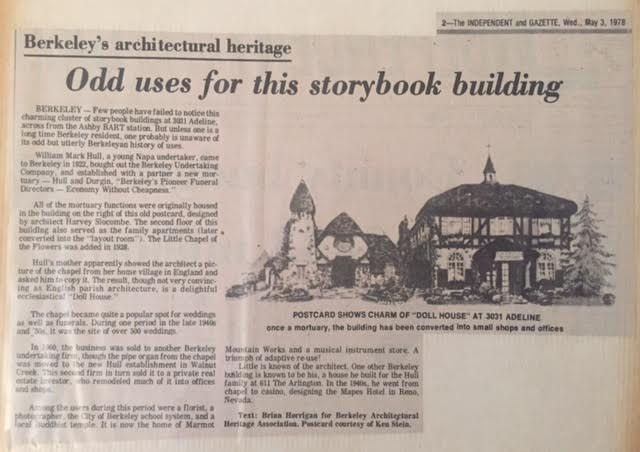 Berkeley Gazette, May 3, 1978