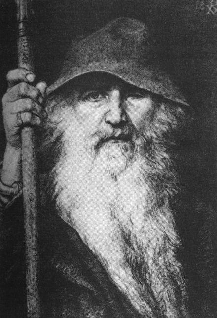 440px-Georg_von_Rosen_-_Oden_som_vandringsman,_1886_(Odin,_the_Wanderer)