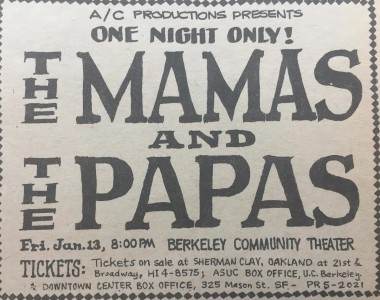 Mamas and Papas January 6