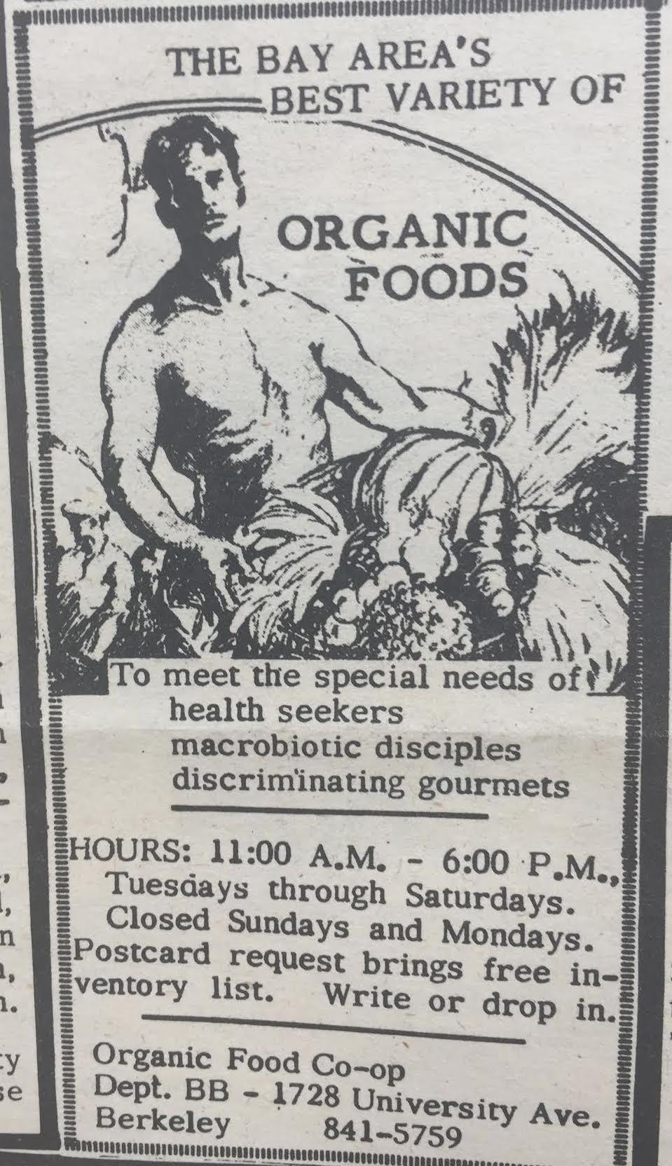 Organic Food December 15