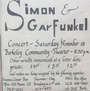 Simon and Garfunkel October 20