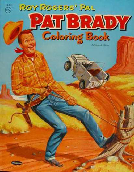1956 Pat Brady coloring book