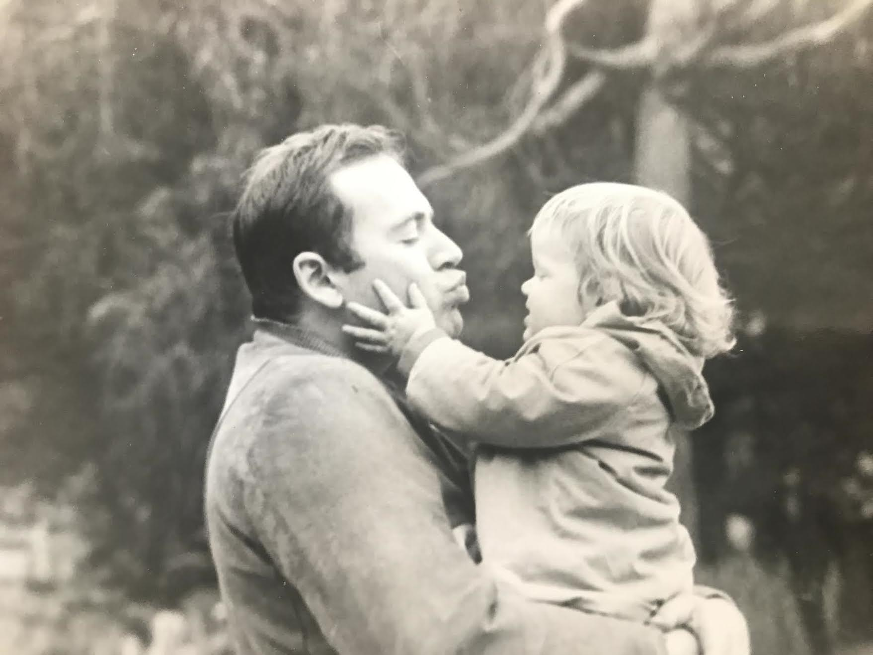 Don and daughter Jenny.  Photograph courtesy of Alice Schenker.