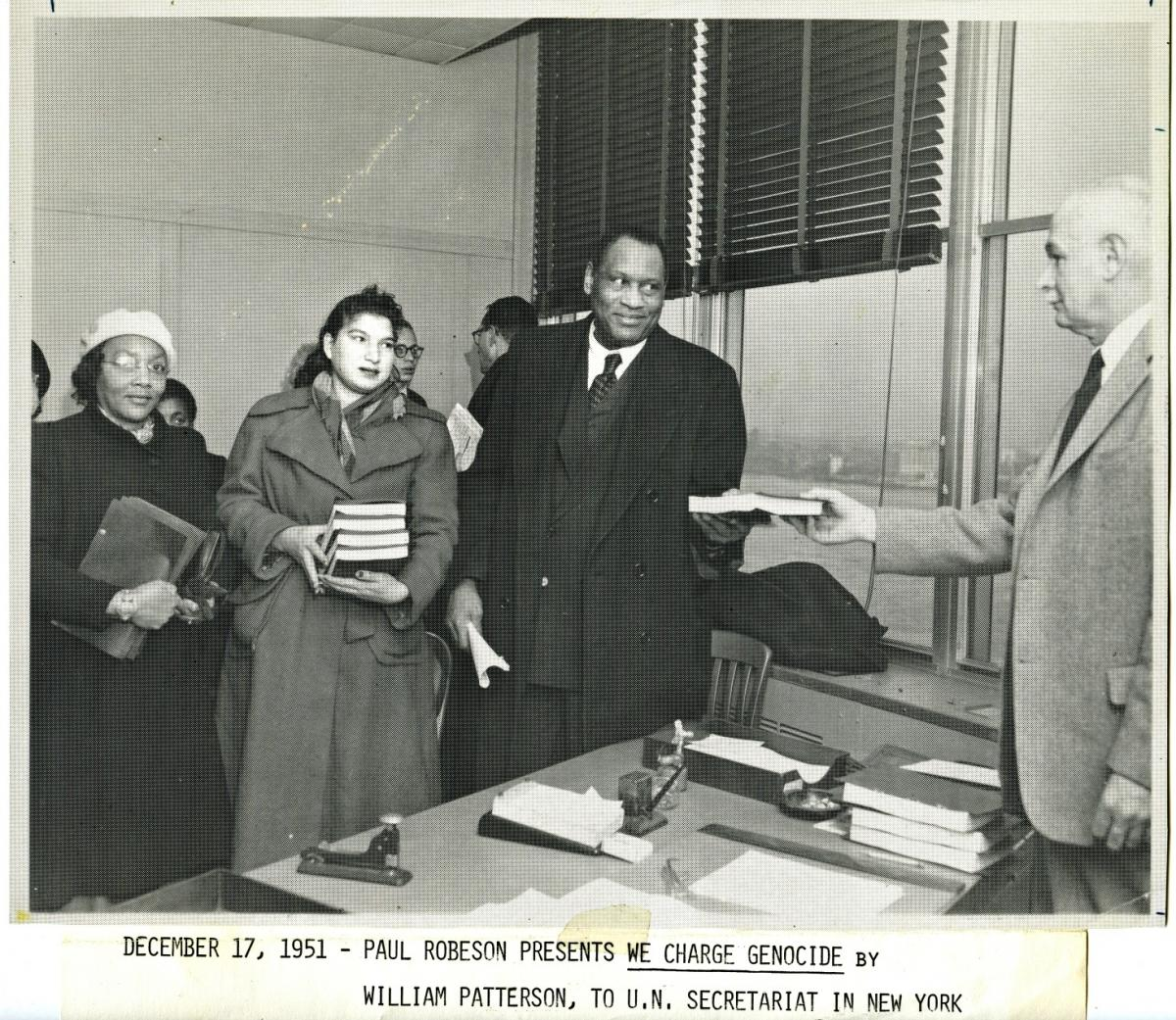 Paul Robeson and the Civil Rights Congress