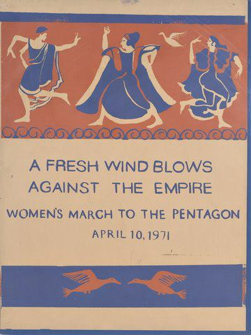 Fresh Wind blows poster