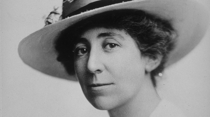 Jeannette Rankin.  Photo: history.com