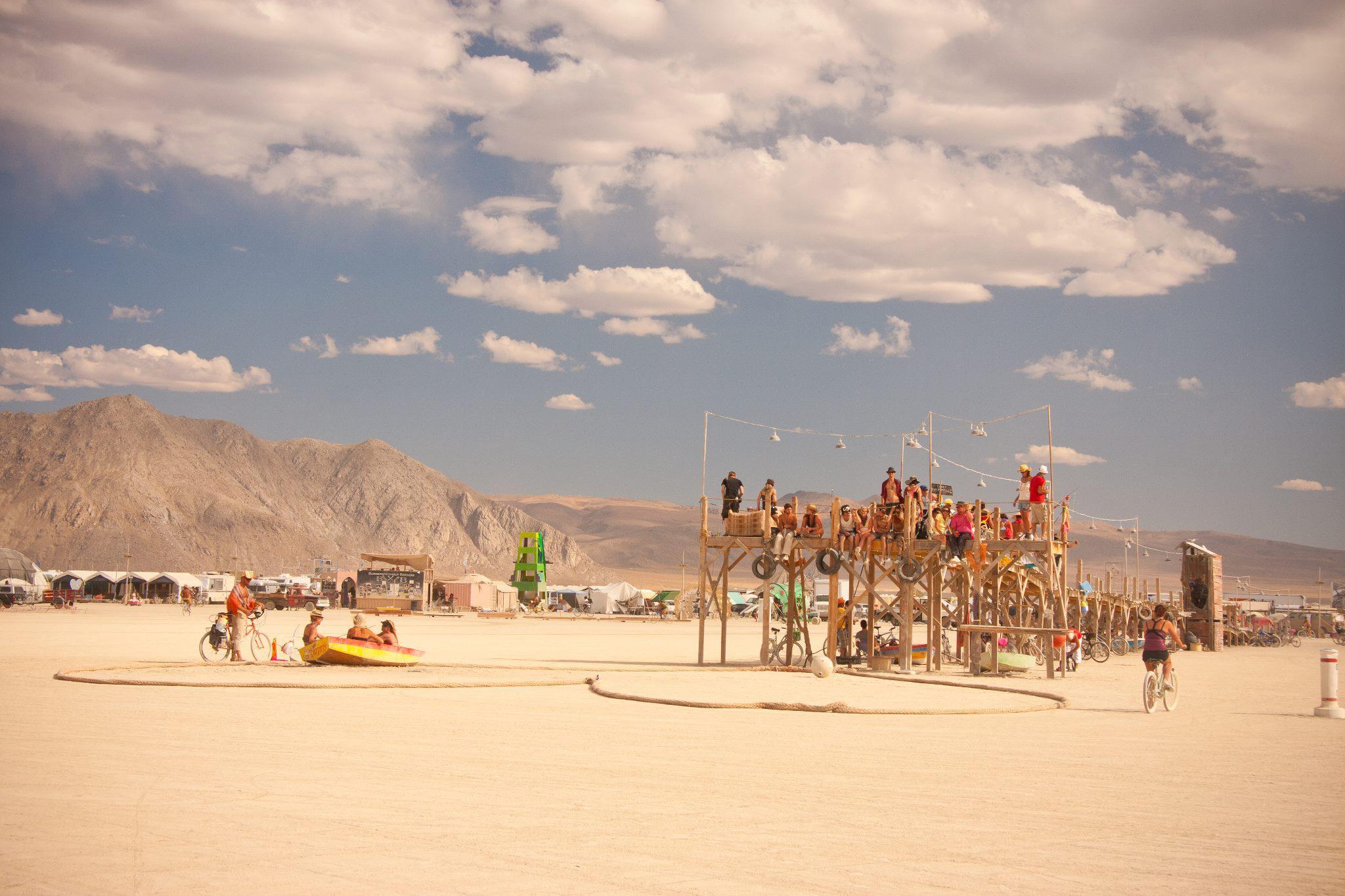 Photo: http://www.noveljourney.com/tag/burning-man/