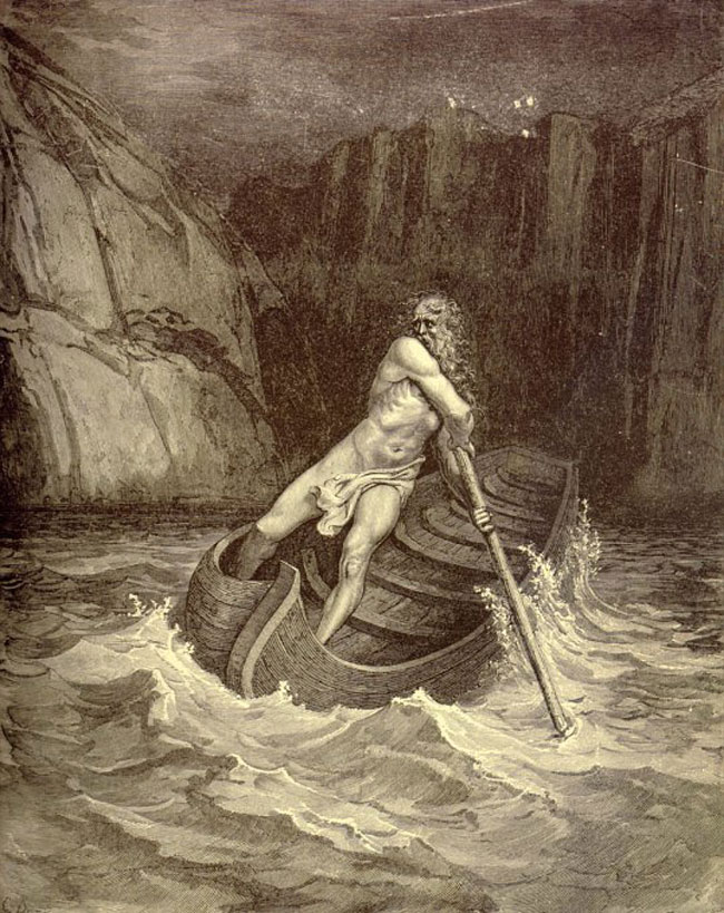 Charon, by Dore