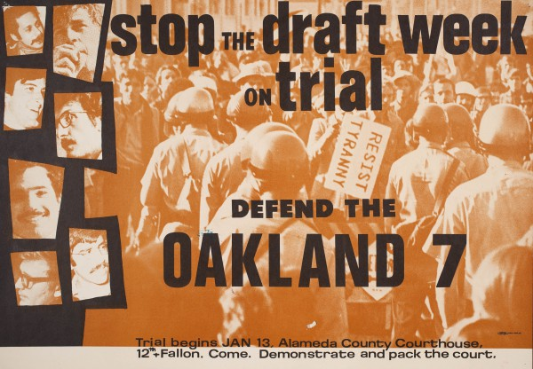 Defend the Oakland 7 poster
