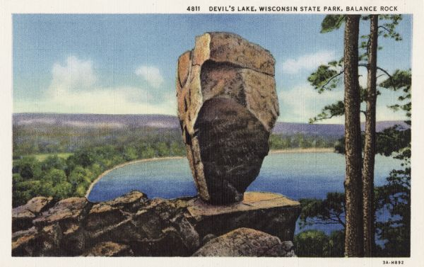 Devil's Lake Postcard