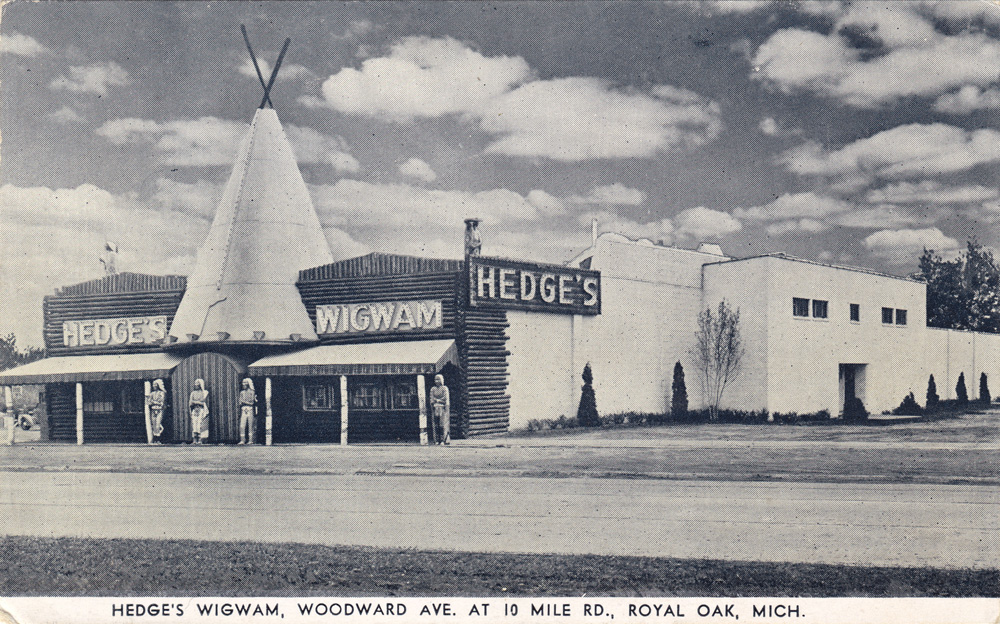 hedges-wigwam Royal Oaks