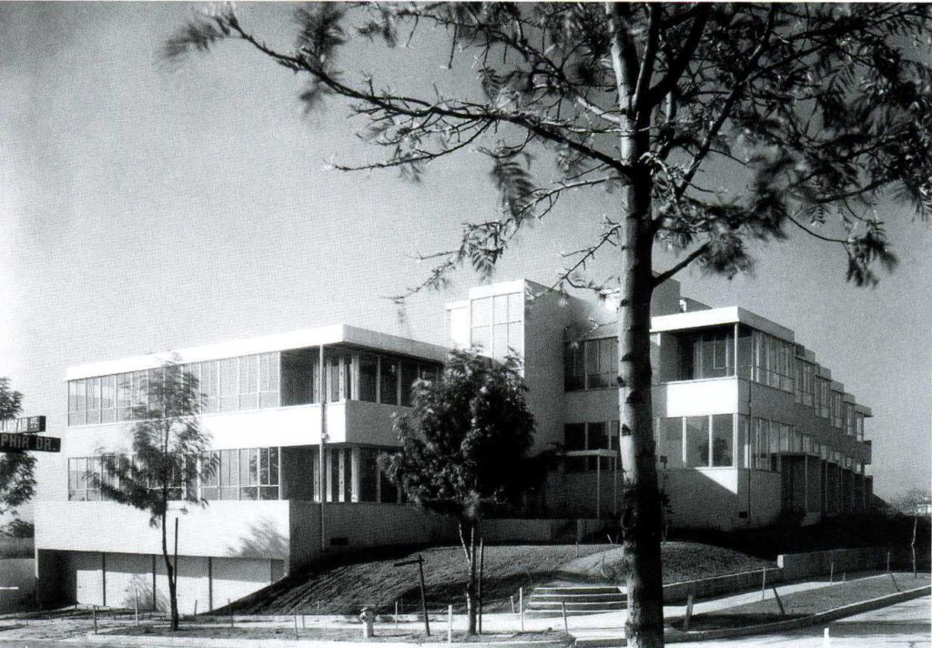 Landfair Apartments Neutra